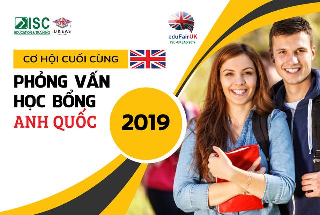 Cơ hội cuối cùng đăng ký phỏng vấn học bổng - Du học Anh 2019 - 1