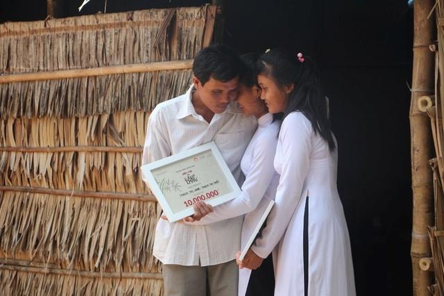 Nhiều em học sinh nghèo đã được tiếp tục đến trường thông qua Ước Mơ Từ Làng - 2
