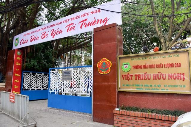 Ngôi trường tại Hà Nội có lớp học mang tên Kim Nhật Thành, Kim Chính Nhật - 1