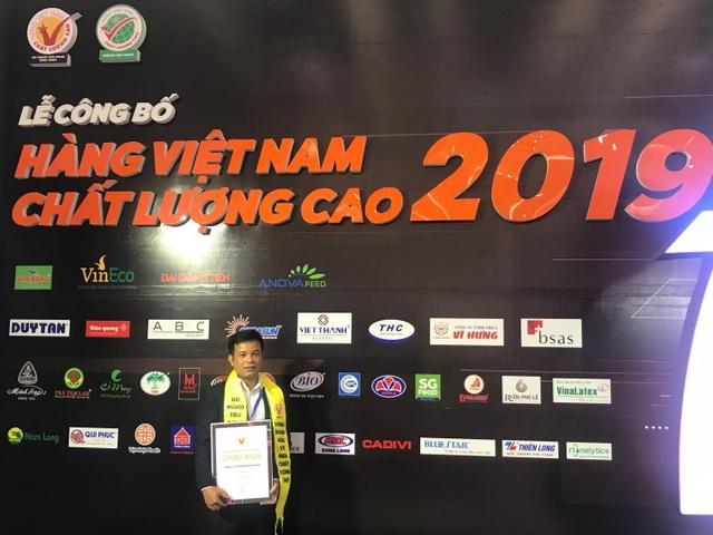 Wincofood  nhận danh hiệu Hàng Việt Nam chất lượng cao 2019 - 1