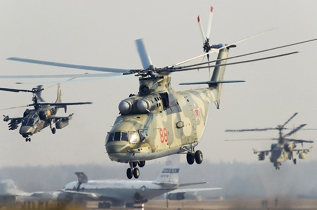 Các loại trực thăng quân sự lợi hại hàng đầu của quân đội Nga - 8