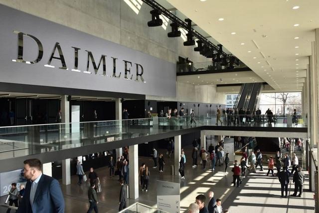 Daimler chính thức bị điều tra gian lận - 1