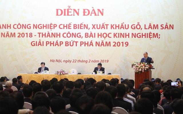 Thủ tướng muốn Việt Nam trở thành công xưởng đồ gỗ của thế giới - 1