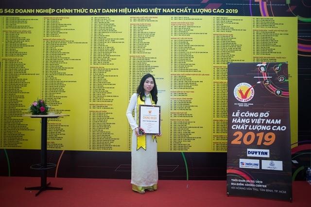 Công ty Nhựa Long Thành đạt danh hiệu Hàng Việt Nam chất lượng cao 2019 - 5
