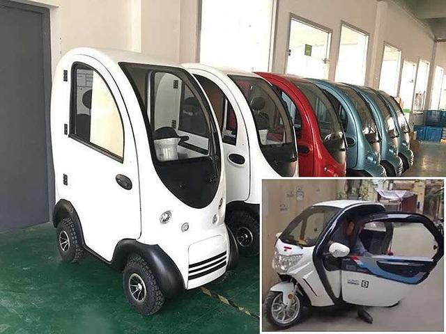Ô tô điện siêu rẻ 40 triệu đồng làm nóng thị trường - 1