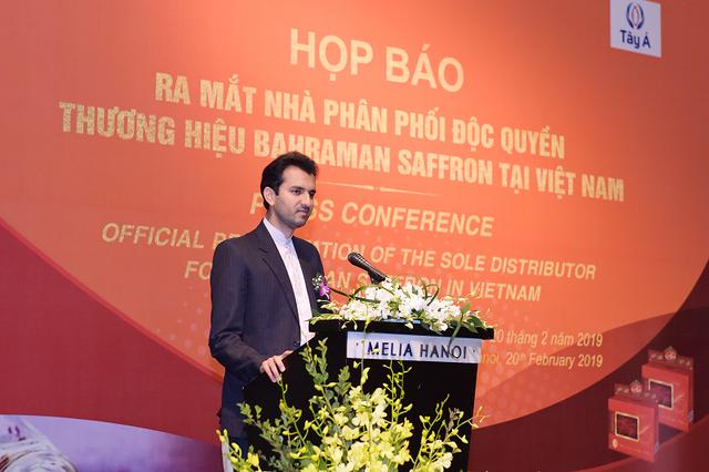 Ra mắt nhà phân phối Nhụy hoa Nghệ Tây Bahraman tại Việt Nam - 3