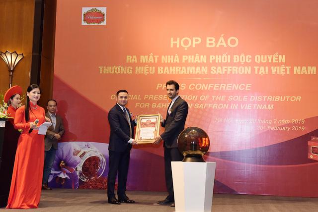 Ra mắt nhà phân phối Nhụy hoa Nghệ Tây Bahraman tại Việt Nam - 4