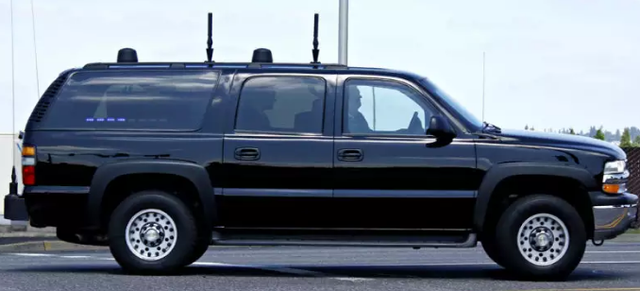 Những chiếc xe đặc biệt trong đoàn xe hộ tống Tổng thống Trump  - 4
