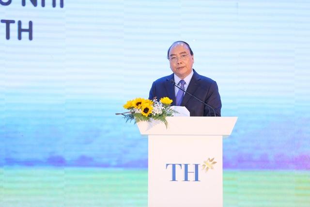 Thủ tướng Nguyễn Xuân Phúc dự lễ khánh thành Nhà máy nước tinh khiết, thảo dược và hoa quả Núi Tiên - 1
