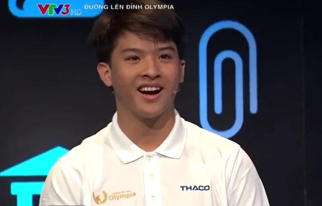 Nguyễn Bá Vinh: Nam sinh Cần Thơ chiếm 3 kỷ lục Olympia 19 - 4