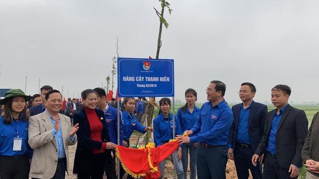 Thanh niên Thủ đô phát động Tết trồng cây và khởi động Tháng thanh niên năm 2019 - 1
