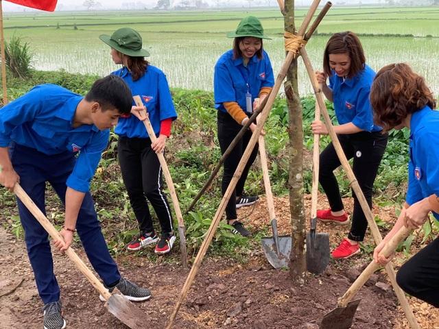 Thanh niên Thủ đô phát động Tết trồng cây và khởi động Tháng thanh niên năm 2019 - 2
