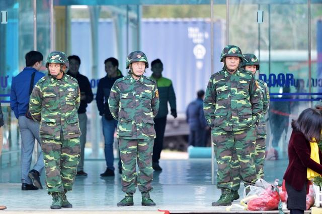 Ga Đồng Đăng thắt chặt an ninh đón tàu chở ông Kim Jong-un - 5