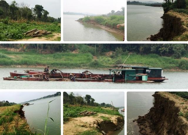 Báo động đỏ tình trạng hà bá nuốt đất, nuốt nhà, truy bức người dân ven sông Mã - 1