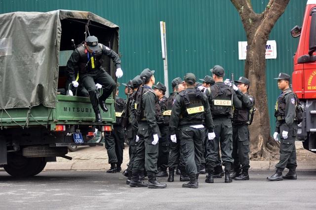 Công an, quân đội tăng cường an ninh trước thềm Hội nghị Thượng đỉnh Mỹ-Triều