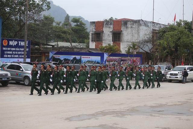 Bộ trưởng kiểm tra công tác chuẩn bị đón Chủ tịch Triều Tiên tại Lạng Sơn - 8