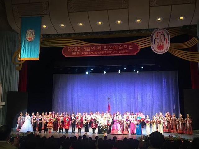 Khai mạc Liên hoan nghệ thuật Mùa xuân Bình Nhưỡng