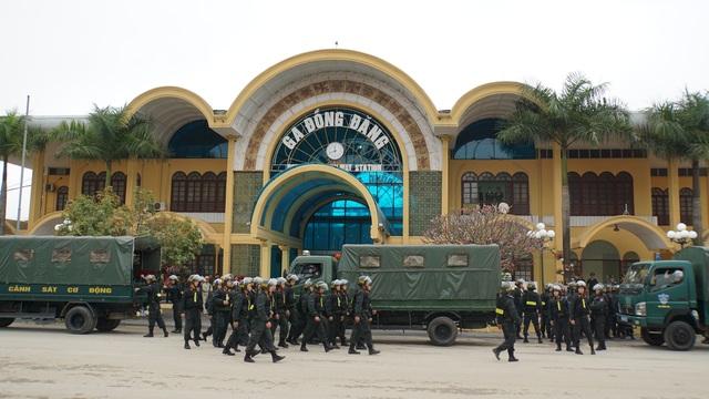 Bộ trưởng kiểm tra công tác chuẩn bị đón Chủ tịch Triều Tiên tại Lạng Sơn - 5