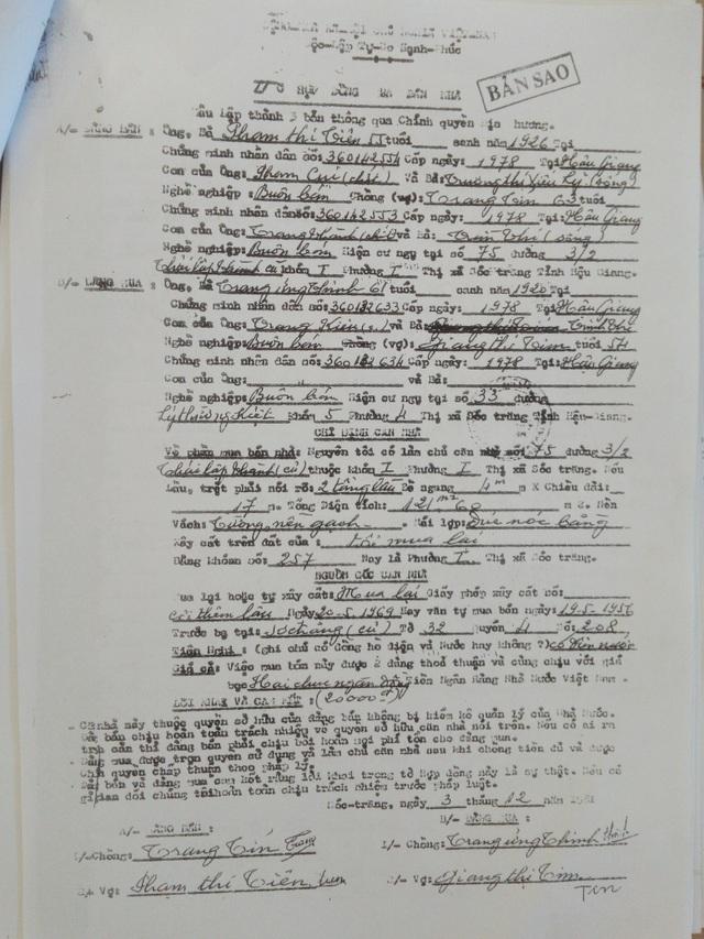 """Cục thi hành án tỉnh Sóc Trăng bị """"tố"""" thi hành vượt quá giới hạn của bản án! - 4"""