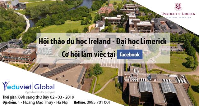 Khởi đầu ước mơ cùng Đại học Limerick (Ireland)- Cơ hội làm việc tại tập đoàn đa quốc gia - 1
