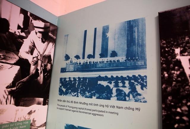 Những tư liệu giá trị về Triều Tiên ở Bảo tàng Lịch sử Quân sự Việt Nam - 2