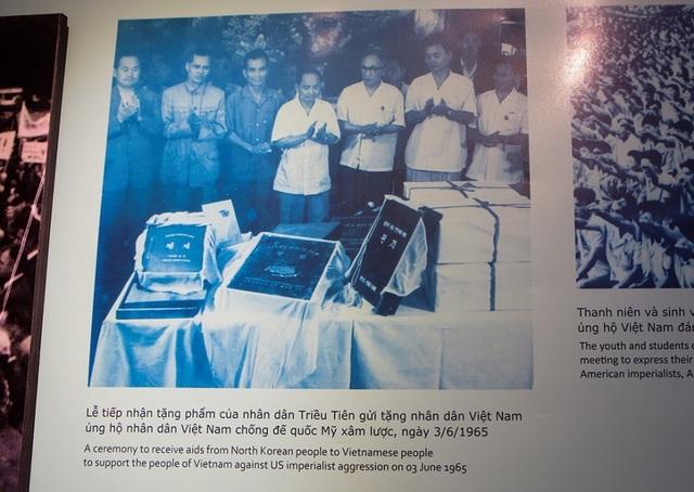 Những tư liệu giá trị về Triều Tiên ở Bảo tàng Lịch sử Quân sự Việt Nam - 4