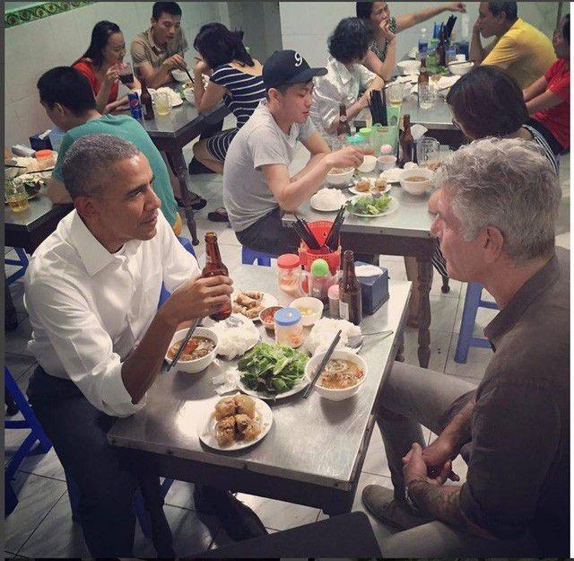 """Những lãnh đạo nước ngoài """"mê mẩn"""" ẩm thực bình dân Việt Nam - 6"""