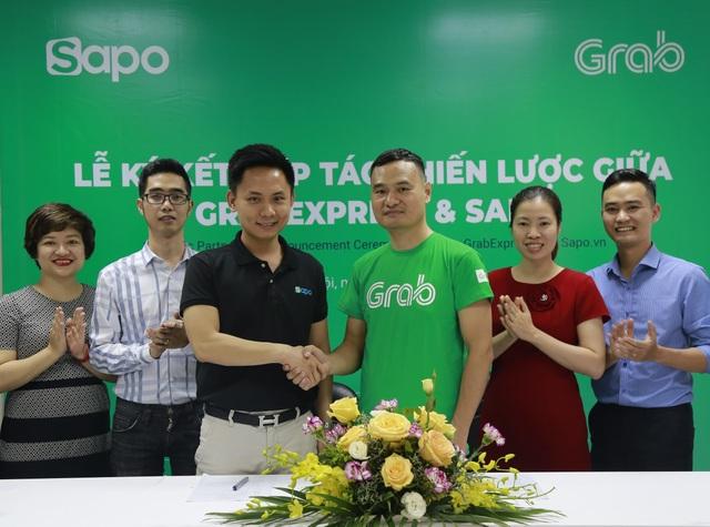 Sapo hợp tác với GrabExpress giao hàng trong 2h - 1