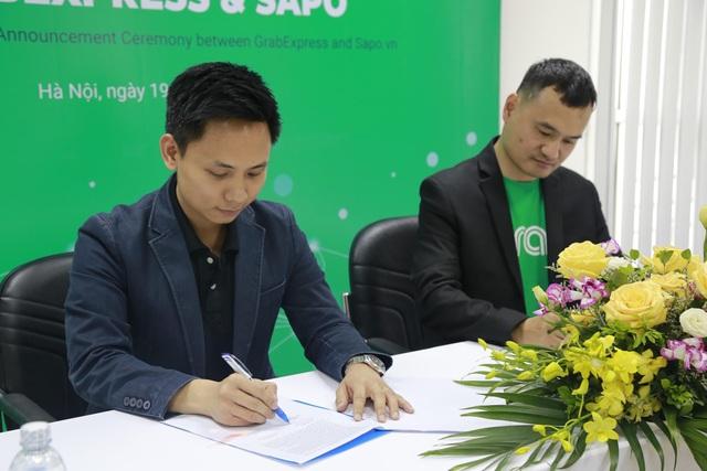 Sapo hợp tác với GrabExpress giao hàng trong 2h - 2