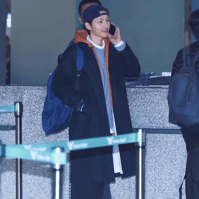 Song Joong Ki lần đầu xuất hiện sau tin đồn ly hôn - 1