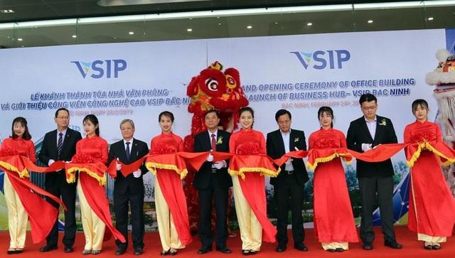 VSIP Bắc Ninh chuyển mình nhờ các khu công nghệ cao và đô thị - 1