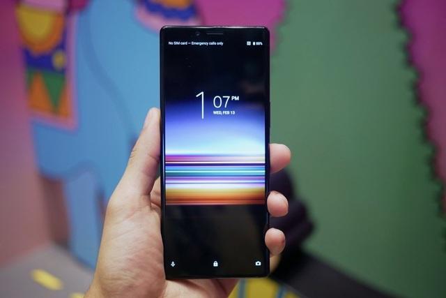 Sony trình làng smartphone 4K OLED siêu khủng - 1