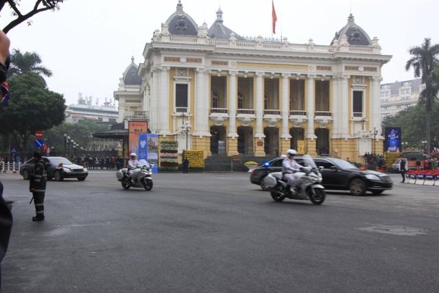 Chủ tịch Triều Tiên tới Hà Nội, dừng chân tại khách sạn Melia - 5