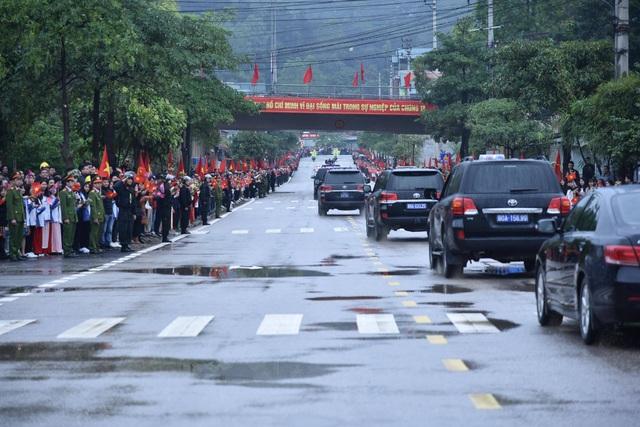 Hành trình của Chủ tịch Triều Tiên từ ga Đồng Đăng tới Hà Nội - 10