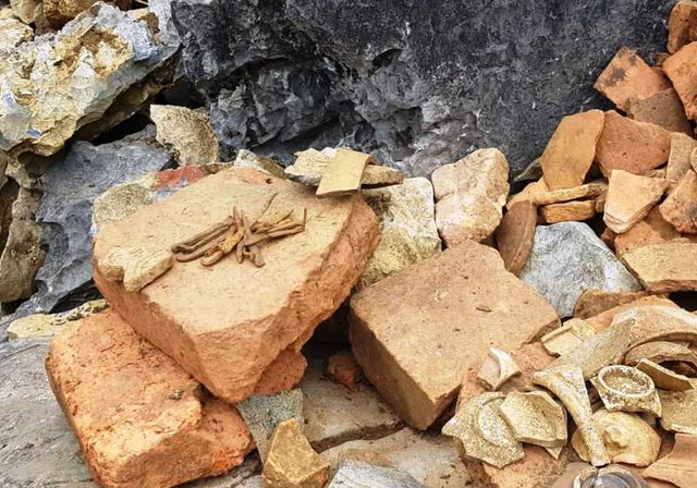Công bố kết quả khai quật thám sát di chỉ khảo cổ học núi Xuân Đài - 8