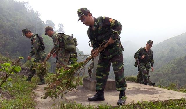 Dấu chân người chiến sĩ biên phòng trên các mặt trận - 6
