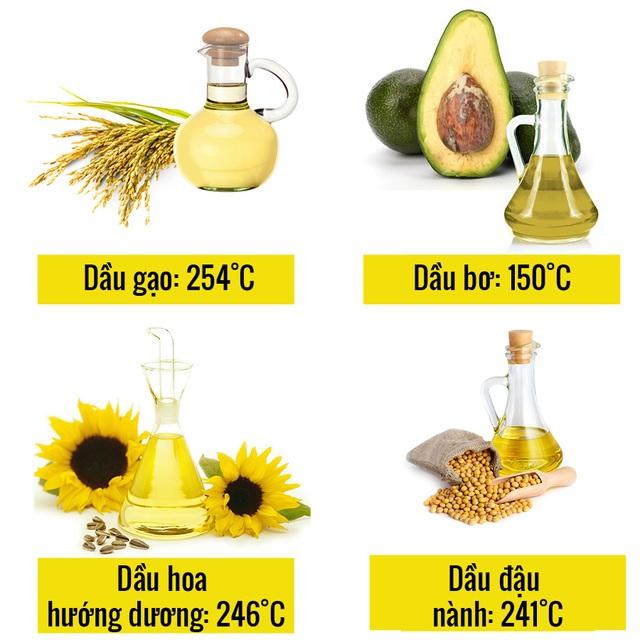 5 điều cần biết để sử dụng dầu ăn an toàn cho sức khỏe - 3
