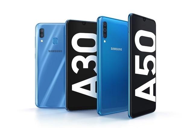 Samsung trình làng Galaxy A30 và A50 tầm trung sử dụng màn hình AMOLED - 1