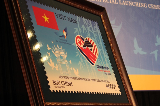 Phát hành bộ tem đặc biệt chào mừng Thượng đỉnh Mỹ - Triều lần 2 tại Hà Nội - 2
