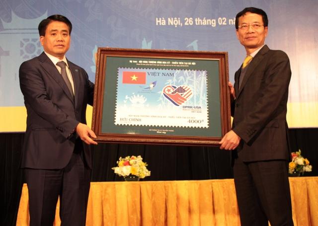 Phát hành bộ tem đặc biệt chào mừng Thượng đỉnh Mỹ - Triều lần 2 tại Hà Nội - 4