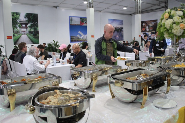 Những món ăn Việt chiêu đãi phóng viên quốc tế nhân thượng đỉnh Mỹ Triều - 13