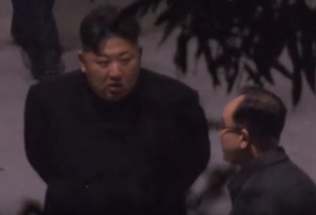 Video ông Kim Jong-un nghỉ tại ga Trung Quốc trước khi tới Việt Nam - 1
