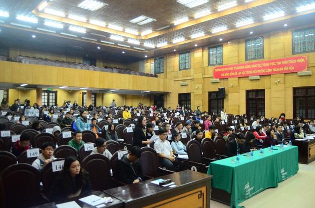 Điểm mới trong bài thi chung khảo Olympic tiếng Anh THCS thành phố Hà Nội lần thứ 9 - 4