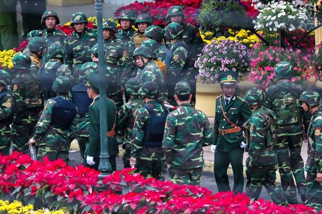 An ninh siết chặt trước giờ đón lãnh đạo Mỹ - Triều tới Việt Nam - 12