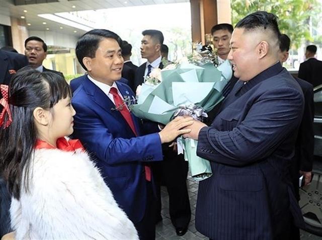 Chủ tịch Triều Tiên tới Hà Nội, dừng chân tại khách sạn Melia
