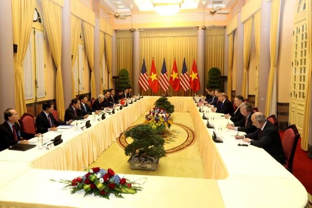 Tổng thống Donald Trump hội kiến Tổng Bí thư, Chủ tịch nước Nguyễn Phú Trọng - 6