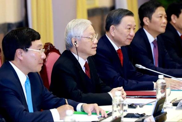 Tổng thống Donald Trump hội kiến Tổng Bí thư, Chủ tịch nước Nguyễn Phú Trọng - 4