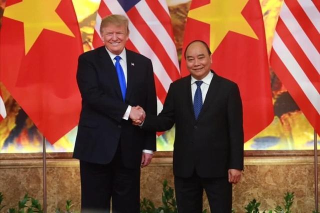 Tổng thống Donald Trump ăn trưa cùng Thủ tướng Nguyễn Xuân Phúc - 1