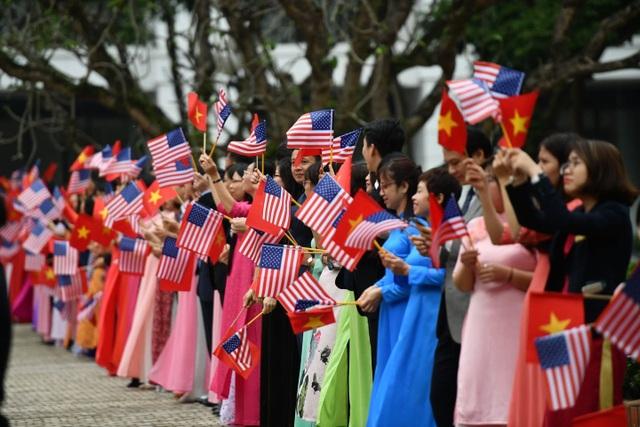Tổng thống Donald Trump hội kiến Tổng Bí thư, Chủ tịch nước Nguyễn Phú Trọng - 13