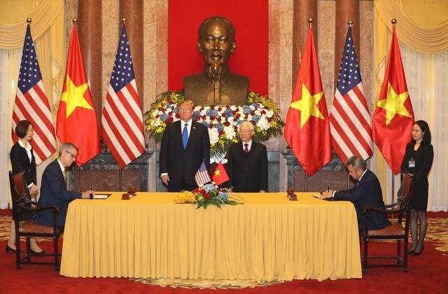 Tổng thống Donald Trump hội kiến Tổng Bí thư, Chủ tịch nước Nguyễn Phú Trọng - 2